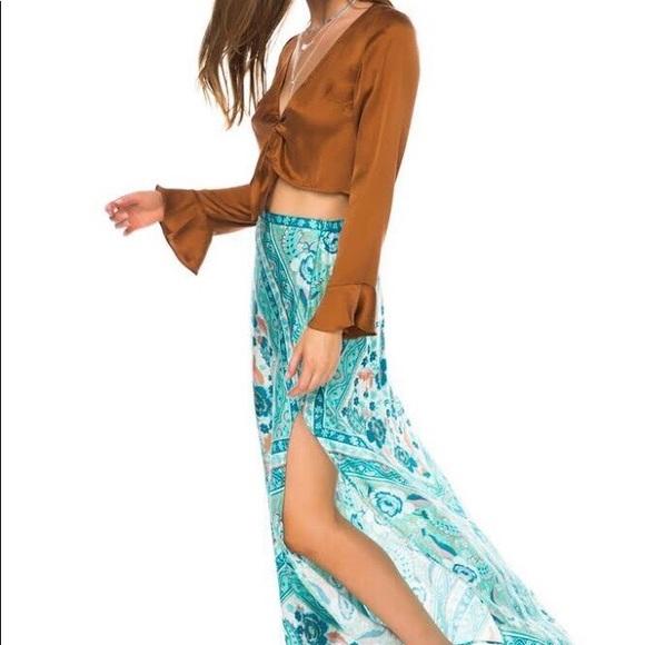Arnhem Azalea Maxi Skirt